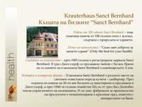 Sanct Bernhard - къщата на билките